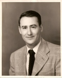 Bob Mottice's college graduation picture